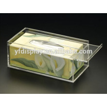 Hot Sale Clear Tissue Box made in 4mm thick acrylic