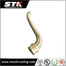 China Proveedor Aleación de cobre Die Casting CNC Machining Parts