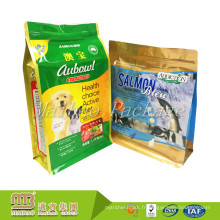 Chine fabricant OEM personnalisé commande 8 côté sac d'emballage alimentaire pour animaux de compagnie en plastique plastifié poche