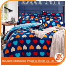 Hochwertige 100% Polyester gebürstete Bettwäsche Set Produkte zum Verkauf