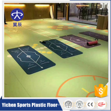 Yichen PVC print surface gym multifunction flooring mat