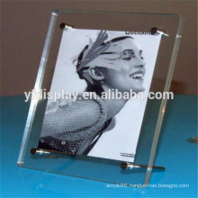 Acrylic Photo Frame With Hardware Fitting