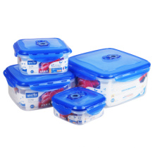 4 in 1 Set Microwavable Attached-Lid Food Storage Boxes on Sale