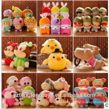 cheap crane machine soft toy, plush toy for claw machine