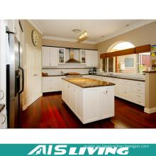 Muebles de los gabinetes de cocina de las tablas del MDF de la melamina (AIS-K757)