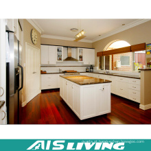 O MDF da melamina embarca a mobília dos armários de cozinha (AIS-K757)