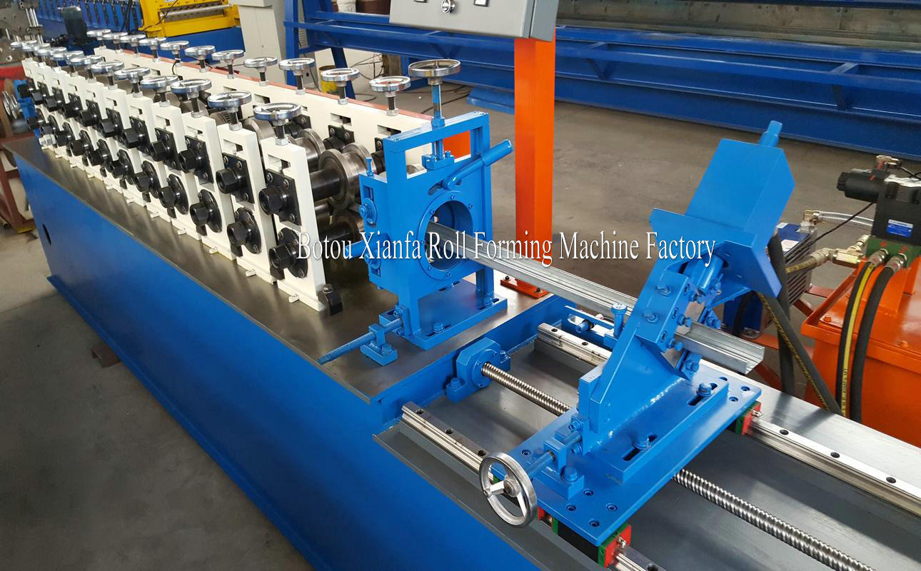 channel light steel framing roll forming machine