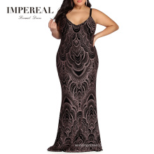 2019 Party Sexy Plus Size Ladies Evening Dress African Kitenge Designs Dresses