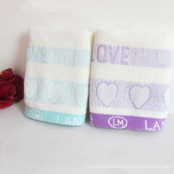 100%Cotton Jacquard Face Towel for Bathroom