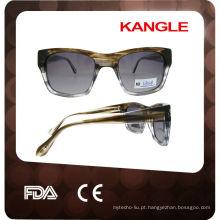Óculos de sol de acetato polarizado de alta qualidade