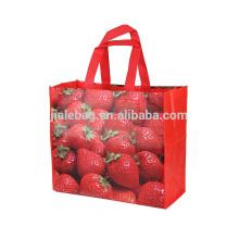 Bolso de compras reutilizable de alta calidad, bolso reutilizable de la venta caliente, bolso del supermercado
