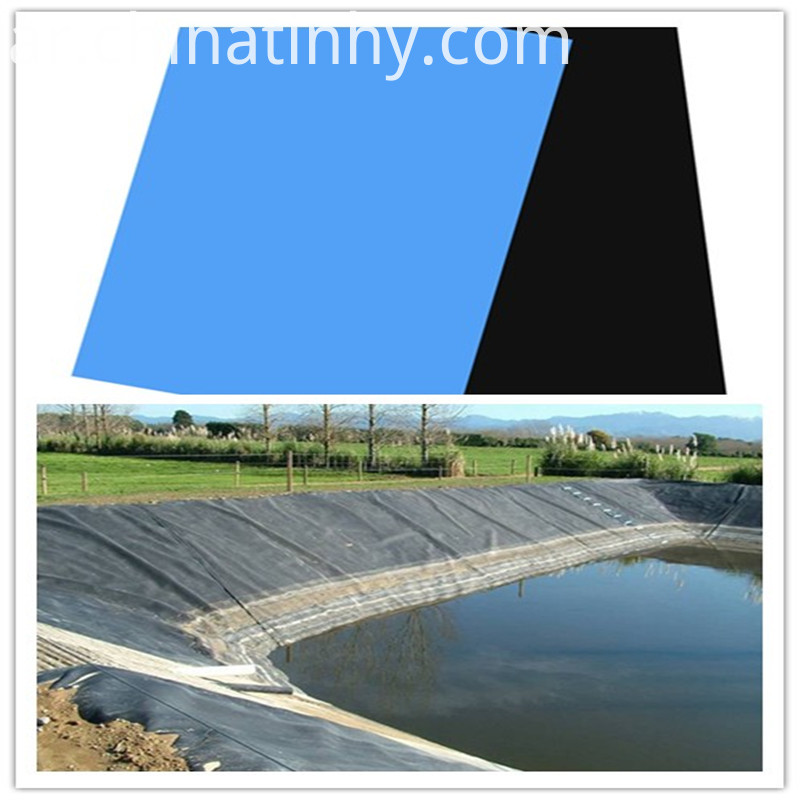 Cheaper price High-density polyethylene liner geomembrane