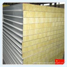 China Fireproof Rock Wool Mineral Wool Sandwich Panel