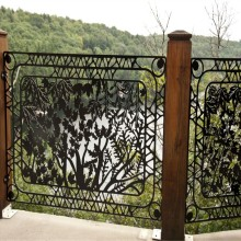 Laser Cut Metal Balcony Panels
