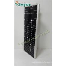 Farola solar integrada todo en una luz de calle solar