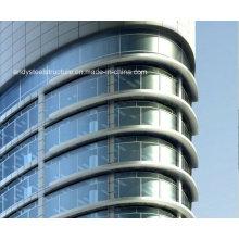 Hohe Qualität Stahl Strukturelle Außen Glasfassade