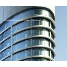 High Quality Steel Structural Exterior Glass Curtain Wall