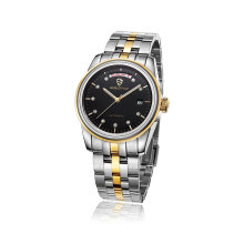 Diamond Stainless Steel Luminous Week and Date Display Montre Homme