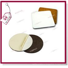 10 см сублимации напечатаны МДФ Корк древесины Coaster