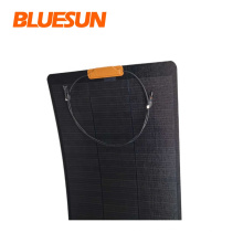 High efficiency black solar cell 110watt 120w black solar 160w solar energy panel 12v boat
