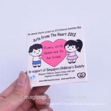 2015 hot-selling boys and girls design souvenir metal fridge magnet