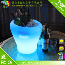 Refrigerador do partido da cubeta do gelo do diodo emissor de luz
