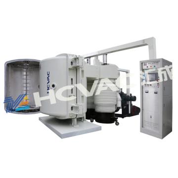 Machine de revêtement de couleur argentée de vide de tasse de réflecteur / machine de revêtement en aluminium de réflecteur