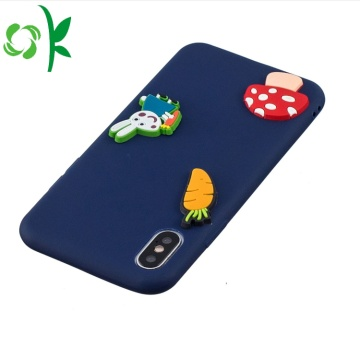 Silicone Phone Accessories 3D - Étui en silicone