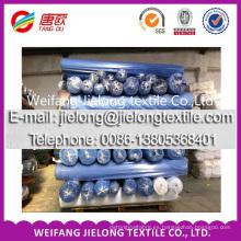 Tela a todo color de la acción del taladro del spandex del algodón de Weifang para la ropa