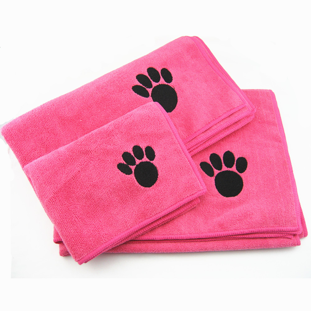 Microfiber Towel For Pet Dog Cats Animal Cleaning Quick Drying