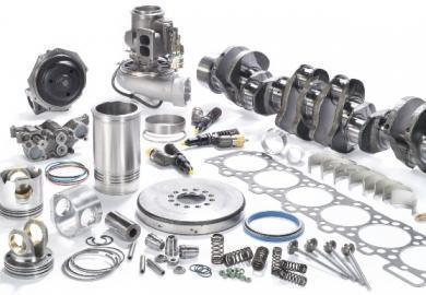Aluminum and Zinc Engine Parts