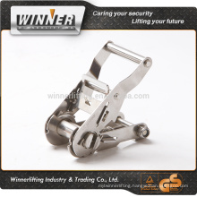 factory supply stainless steel ratchet buckle
