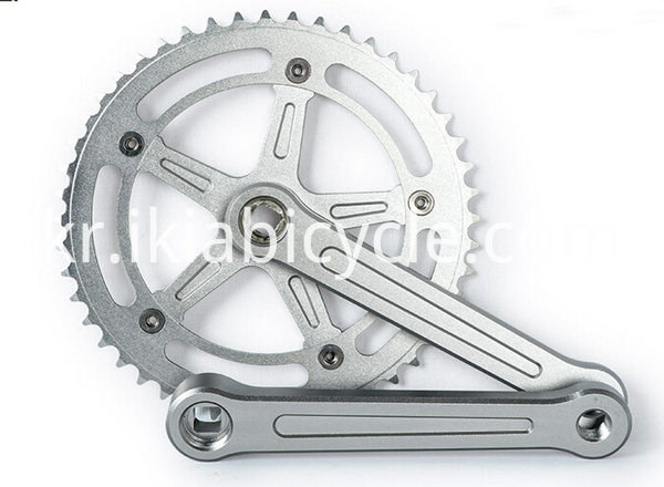 crank and chainwheel