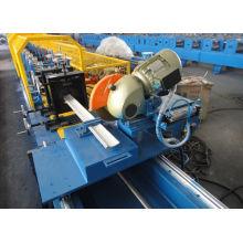 Material Cold Steel Sheet PU Shutter Door Roll Forming Machine