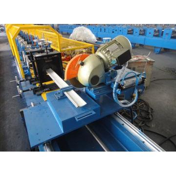 Rolo frio material da porta do obturador do plutônio da chapa de aço que forma a máquina