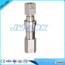 Raccord de tuyauterie à connexion rapide de haute qualité