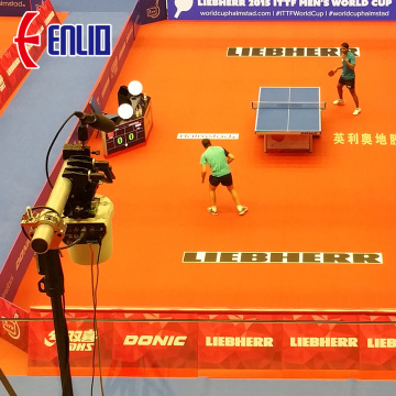 enlio PVC Table Tennis tikar lantai dengan ITTF