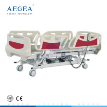 AG-BY003C more advanced height adjustable five function electric hospital bed for sale