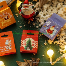 Diary Book & Hand Book Christmas Decoration Stickers