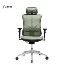 Manager luxury black mesh ergonomic office comfort massage chair
