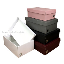 OEM Colorful Paper Corrugated Packaging Shoe Box Customized Size for Apparel Shoe Shipping