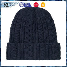 New and hot fine quality ladies knit hat on sale