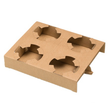 Comgesi New Environmentally paper cup holder tray