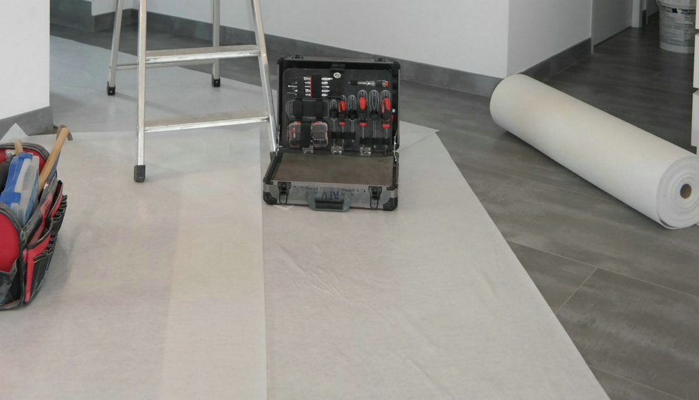 Heavy Duty Temporary Floor Protection