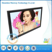 Quadro digital de LCD de montagem de quadro fino 32 polegadas