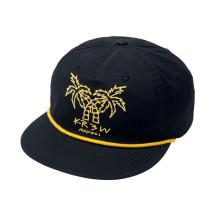 Цветочный Узор Кожаный Ремешок Snapback Шляпу