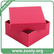 Малый картонный ящик для бумаги / Подарочная коробка для досок для красной бумаги (ZC004)