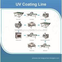 UV-Beschichtungsmaschine Preis für Holzboden