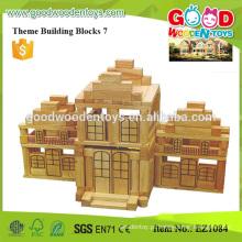 428pcs Grande tamanho bloco de brinquedo de construção natural para crianças