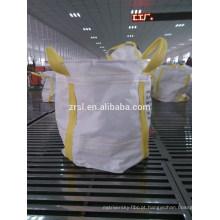 1-2 ton pp grande saco / Circular FIBC Bag (para areia, material de construção, produtos químicos, fertilizantes, etc) hdzrsl 16